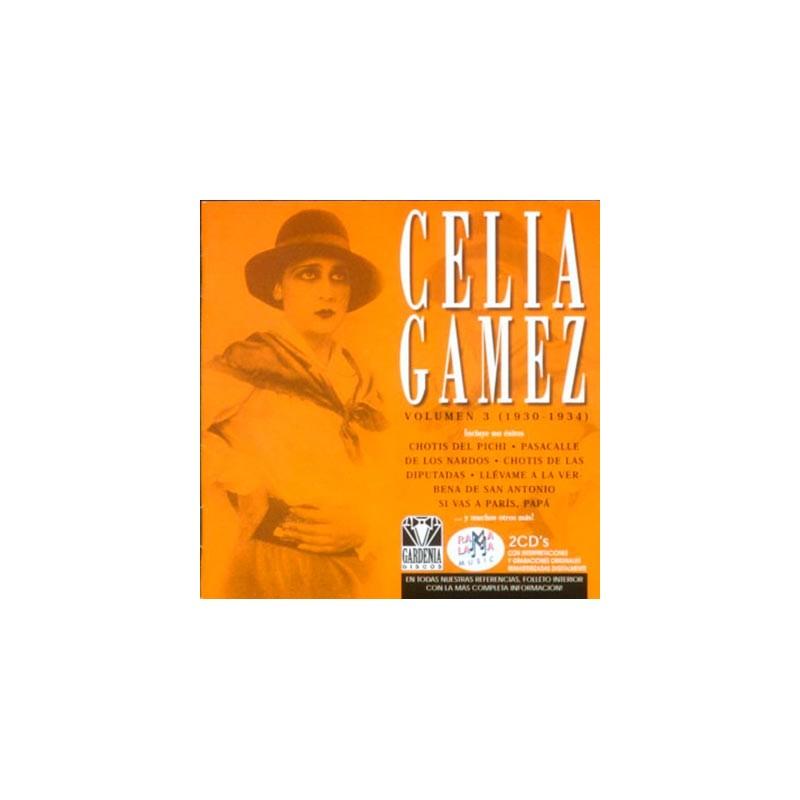 GÁMEZ, CELIA   VOL 3 (1930-1934) ( RO 52332 )