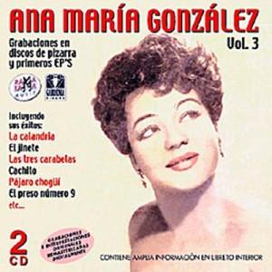 GONZÁLEZ, ANA MARÍA  VOL. 3 ( RO–52812 )