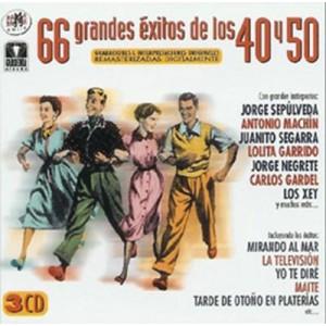 VARIOS - 66 GRANDES ÉXITOS DE LOS 40 Y 50 ( RQ 52592 )