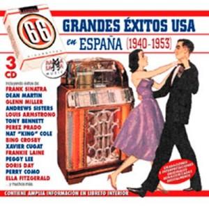 VARIOS - 66 GRANDES EXITOS USA EN ESPAÑA ( RQ 52662 )
