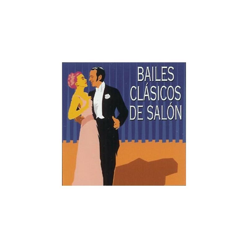 VARIOS - BAILES CLÁSICOS DE SALÓN ( RQ 52482 )