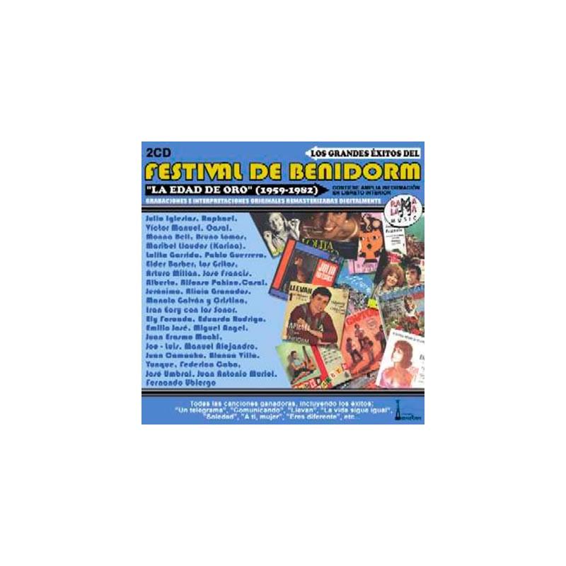 VARIOS - FESTIVAL DE BENIDORM, LOS GRANDES ÉXITOS DEL ( RO 52132 )