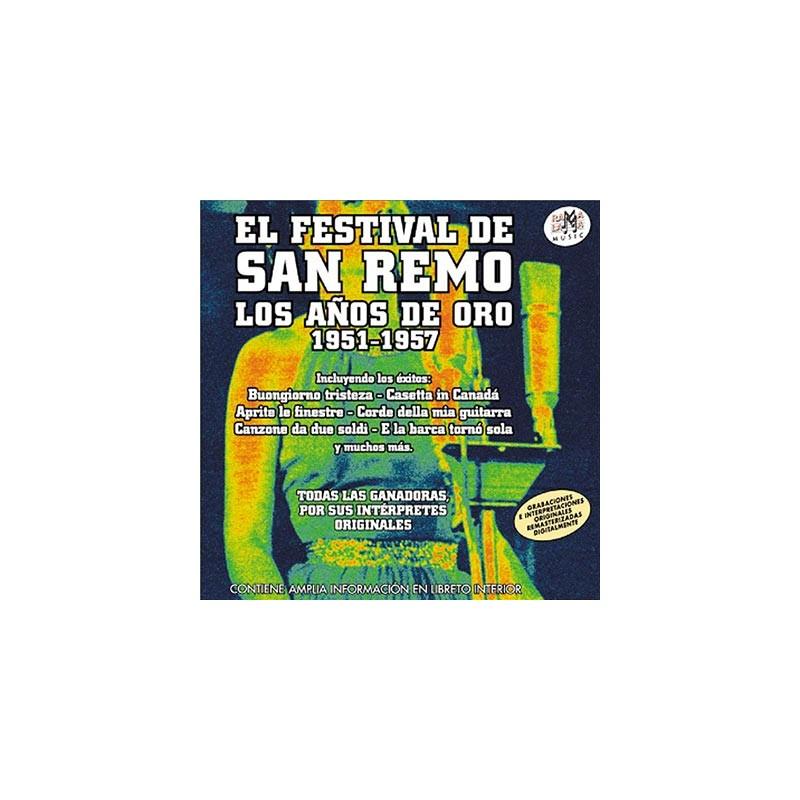 VARIOS - FESTIVAL DE SAN REMO ( RM-53522 )