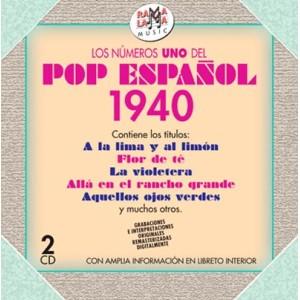 VARIOS - LOS NÚMEROS 1 DEL POP ESPAÑOL 1940 ( RO-54592 )