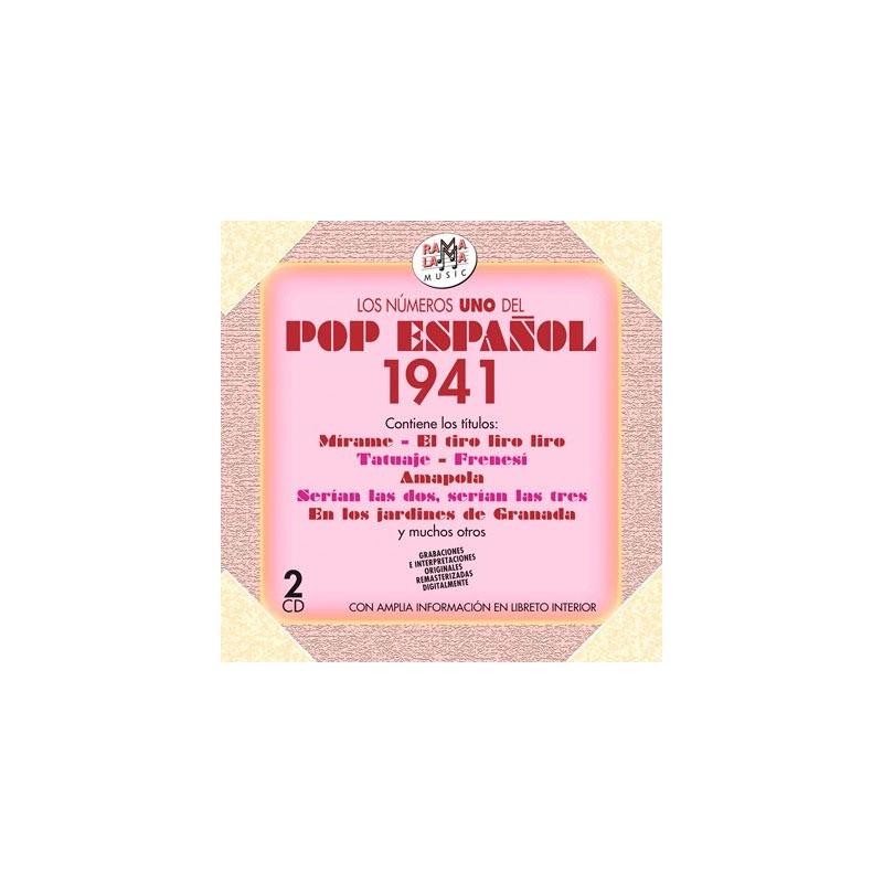 VARIOS - LOS NÚMEROS 1 DEL POP ESPAÑOL 1941 ( RO 54672 )