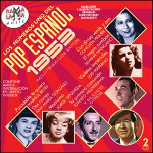 VARIOS - LOS NÚMEROS 1 DEL POP ESPAÑOL 1953 ( RO-54112 )