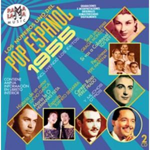 VARIOS - LOS NÚMEROS 1 DEL POP ESPAÑOL 1955 ( RO-54142 )
