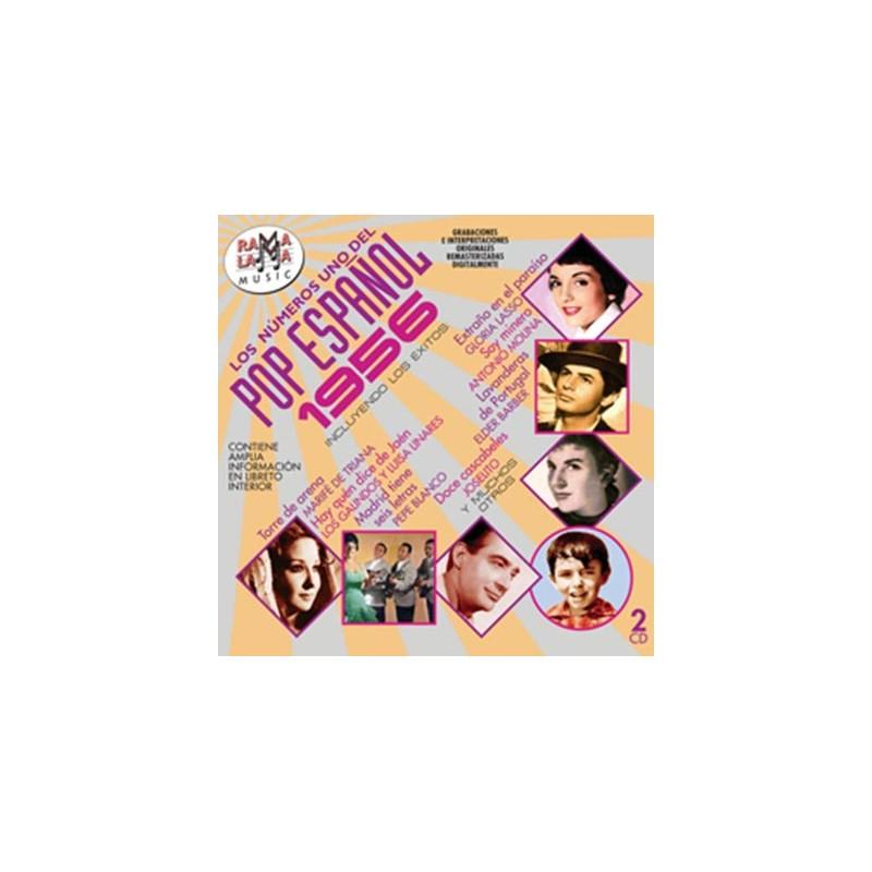 VARIOS - LOS NÚMEROS 1 DEL POP ESPAÑOL 1956 ( RO-54372 )