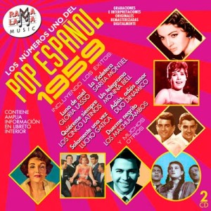 VARIOS - LOS NÚMEROS 1 DEL POP ESPAÑOL 1959 ( RO-54532 )