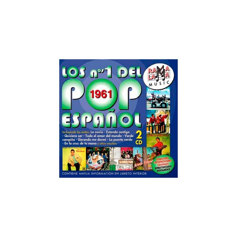 VARIOS - LOS NÚMEROS 1 DEL POP ESPAÑOL 1961 ( RO-53442 )