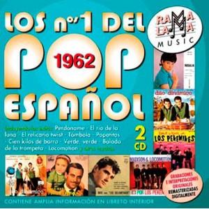 VARIOS - LOS NÚMEROS 1 DEL POP ESPAÑOL 1962 ( RO-53452 )