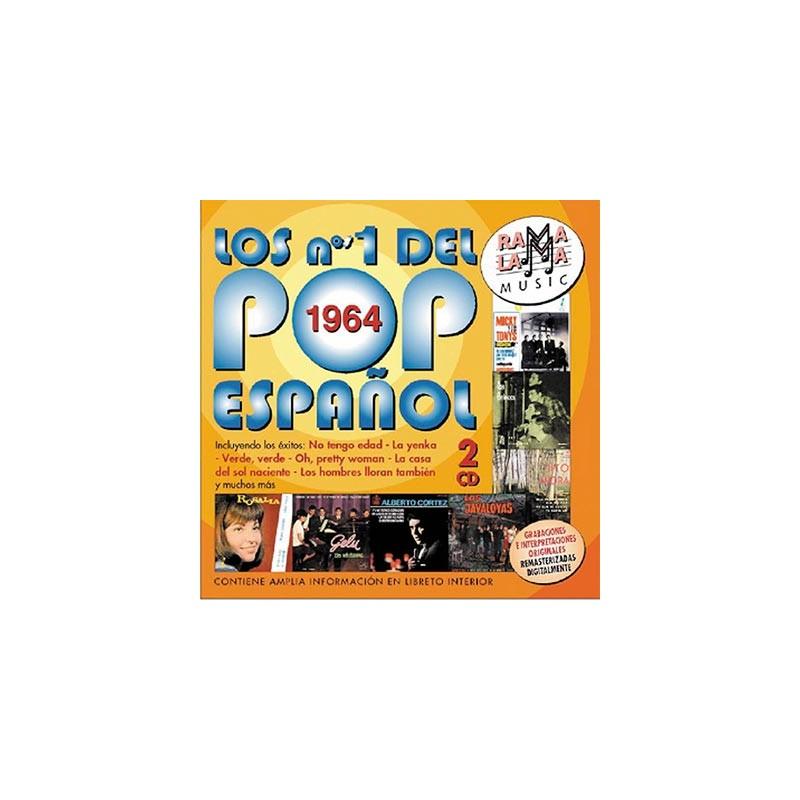 VARIOS - LOS NÚMEROS 1 DEL POP ESPAÑOL 1964 ( RO-53542 )