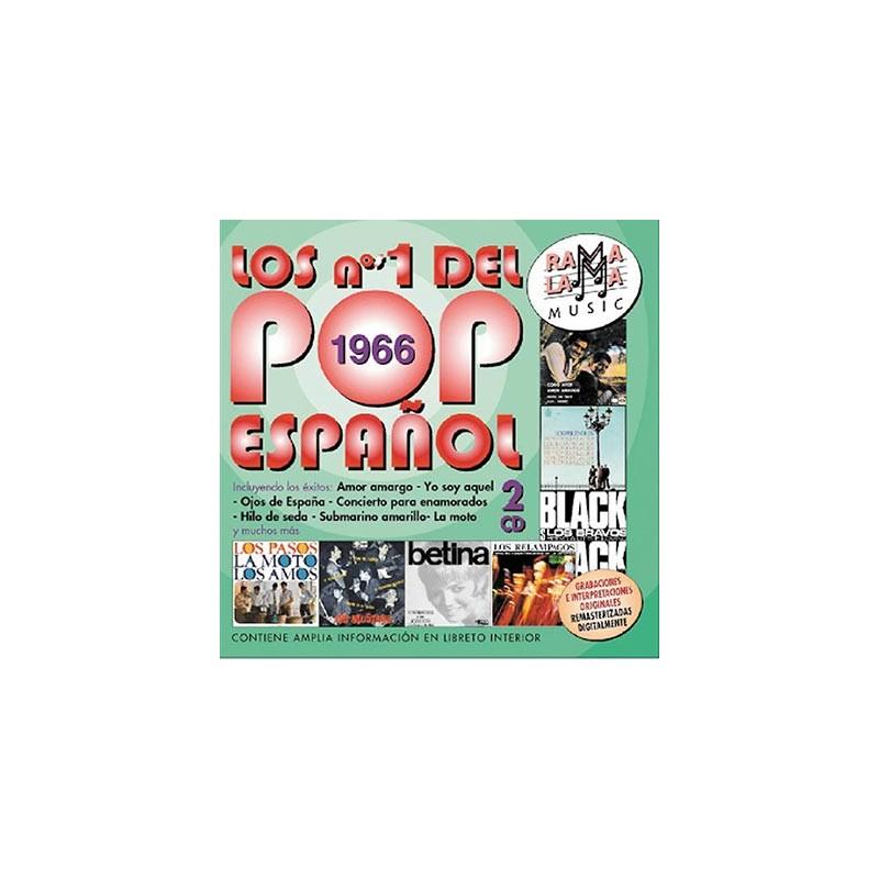 VARIOS - LOS NÚMEROS 1 DEL POP ESPAÑOL 1966 ( RO-53562 )
