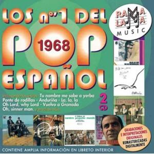VARIOS - LOS NÚMEROS 1 DEL POP ESPAÑOL 1968 ( RO-53642 )