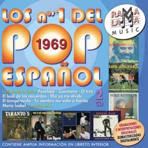 VARIOS - LOS NÚMEROS 1 DEL POP ESPAÑOL 1969 ( RO-53652 )
