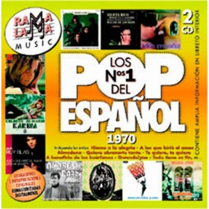 VARIOS - LOS NÚMEROS 1 DEL POP ESPAÑOL 1970 ( RO–52772 )