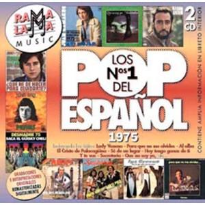 VARIOS - LOS NÚMEROS 1 DEL POP ESPAÑOL 1975  ( RO-52972 )