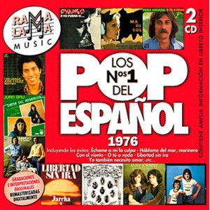 VARIOS - LOS NÚMEROS 1 DEL POP ESPAÑOL 1976 ( RO-53302 )
