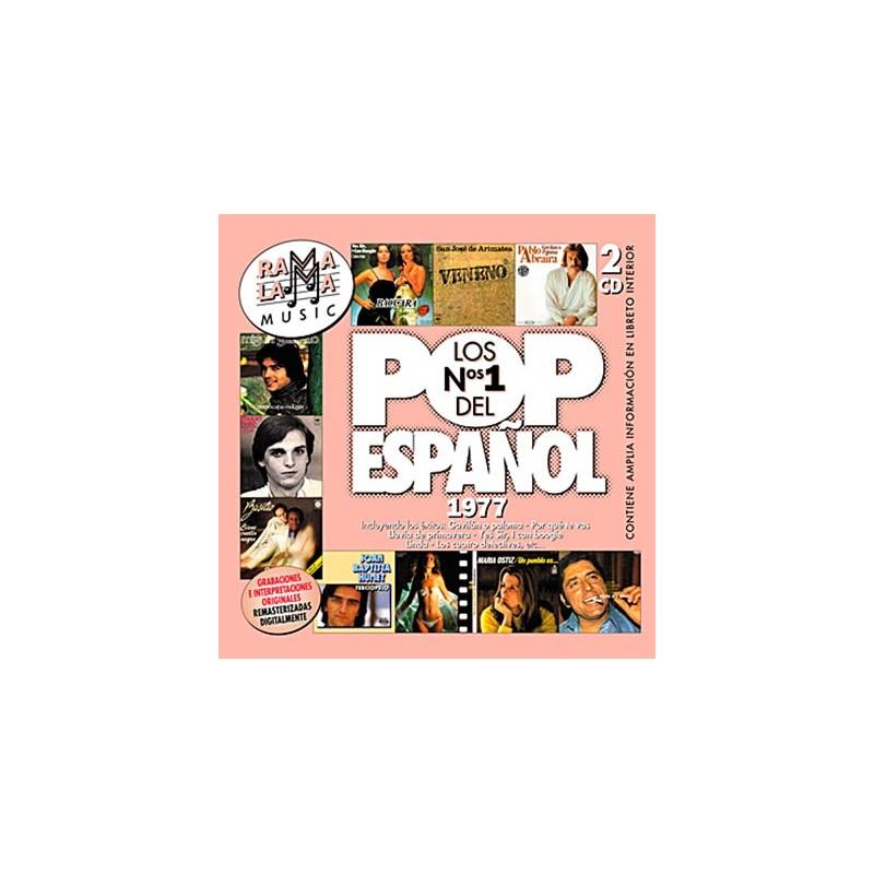 VARIOS - LOS NÚMEROS 1 DEL POP ESPAÑOL 1977 ( RO-53312 )
