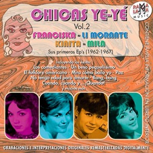 VARIOS - CHICAS YE-YÉ / Vol. 2 (1962-1967) ( RO-53532 )