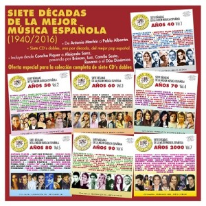 VARIOS - SIETE DÉCADAS DE LA MEJOR MÚSICA VOLS. 1 AL 7 - PACK COMPLETO