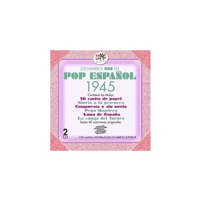 VARIOS - LOS NÚMEROS 1 DEL POP ESPAÑOL 1945  ( RO 55592 )