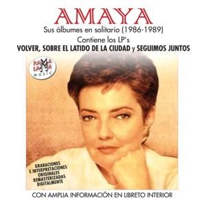 AMAYA - SUS ÁLBUMES EN SOLITARIO (1986-1989) ( RO 55602 )