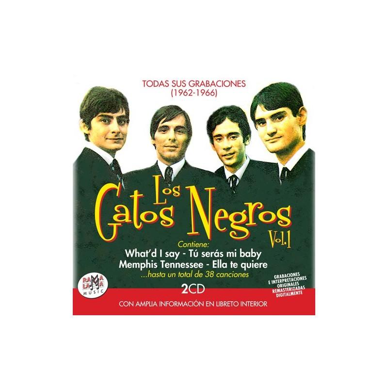 LOS GATOS NEGROS, Vol. 1  TODAS SUS GRABACIONES (1962-1966) ( RO 55332 )