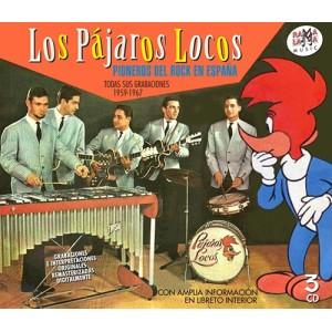 LOS PAJAROS LOCOS - PIONEROS DEL ROCK EN ESPAÑA - TODAS SUS GRABACIONES 1959-1967 ( RQ 55152 )