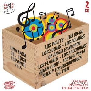 UNA SAGA DEL ROCK ESPAÑOL, VOL. 5 ( RO 55832 )
