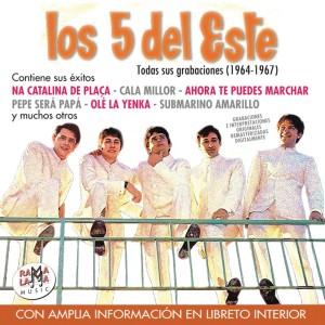 LOS CINCO DEL ESTE - TODAS SUS GRABACIONES (1964-1967) ( RO 55752 )