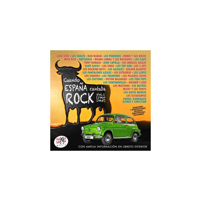 VARIOS - CUANDO ESPAÑA CANTABA ROCK VOL. 1 ( RO-55792 )