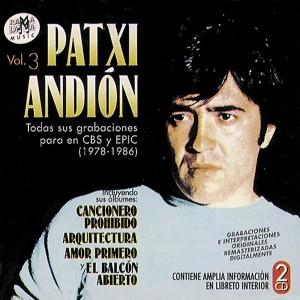 ANDIÓN, PATXI  VOL. 3 (1978-1986) ( RO 51572 )