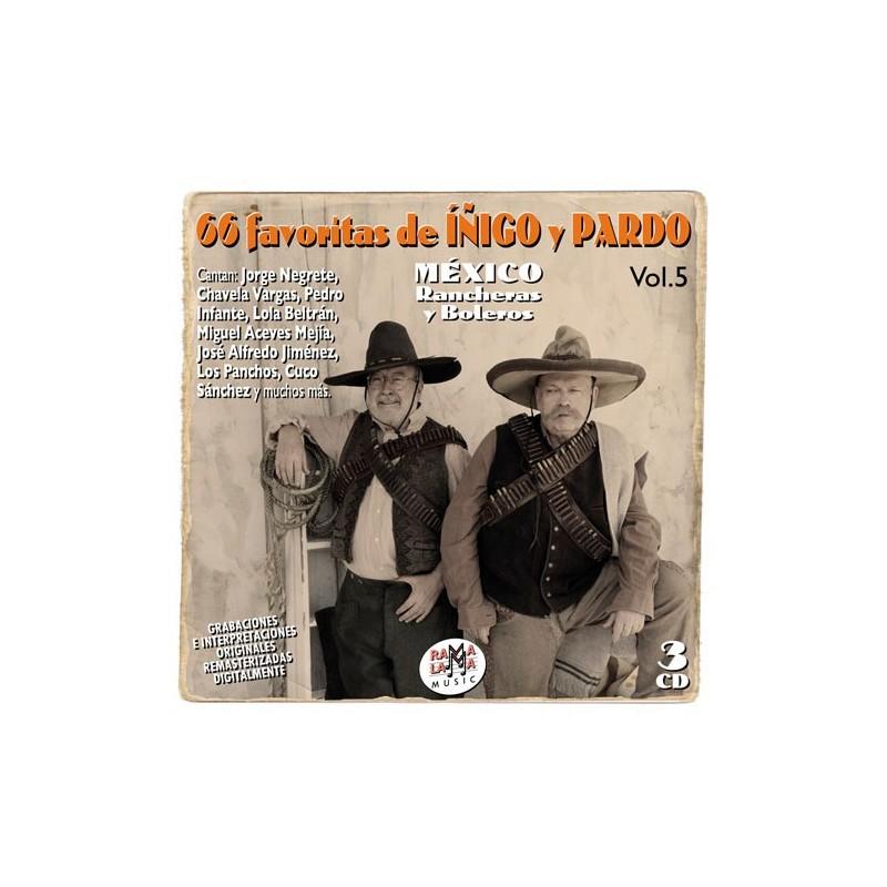 VARIOS - LAS 66 FAVORITAS DE IÑIGO Y PARDO VOL. 05 ( RQ 54862 )
