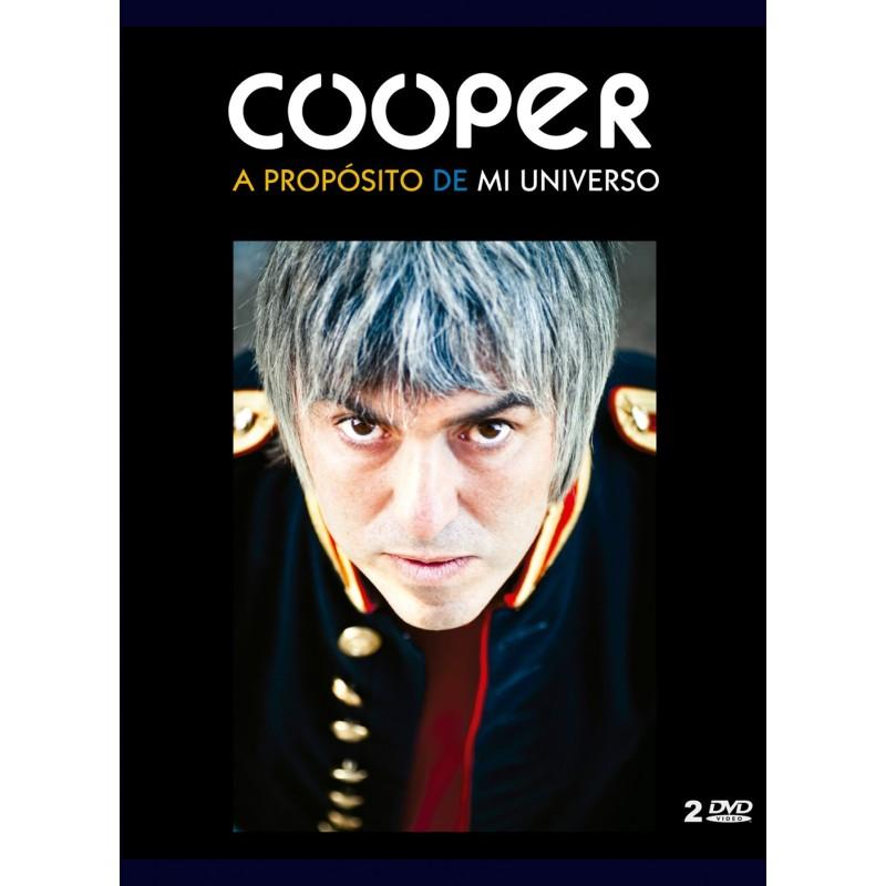 Cooper: A propósito de mi universo (Libro + 2DVD)