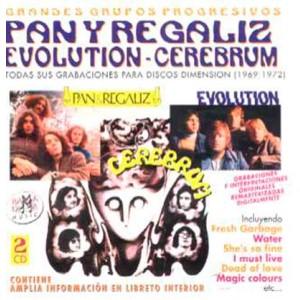 CEREBRUM, PAN Y REGALIZ / EVOLUTION: GRANDES GRUPOS PROGRESIVOS ( RO 50842 )