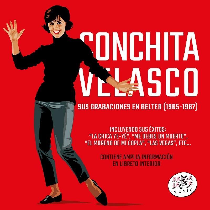 Conchita Velasco - Sus grabaciones en Belter