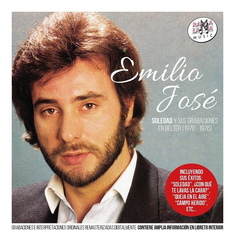 Emilio José - Sus grabaciones en Belter 190-1976