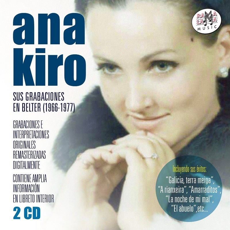 Ana Kiro - Sus grabaciones en Belter 1966-1977