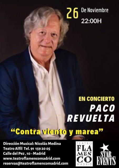 Concierto Paco Revuelta