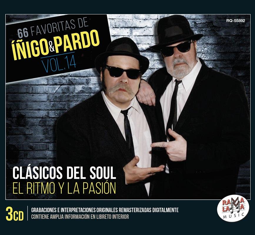 Portada disco Iñigo y Pardo vol. 14